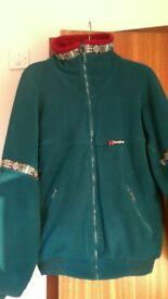 Berghaus lined zipped fleece jacket