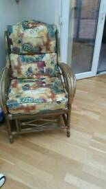 Conservatory arm chair x 2