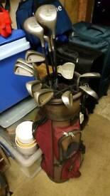 Full Set of Mens Golf Clubs - Titleist DCI