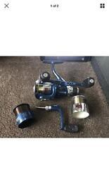 Avanti RDX 2 Freespin Coarse Fishing Reel w/ 2 spare Spools & handle