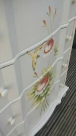 Shabby chic chest of drawers - good condition