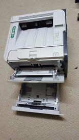 HP laserJet P2055dn with free 60% toner already inside the printer.*