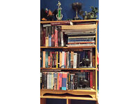 TWO BOOKCASES GOOD STORAGE STRONG AND STURDY