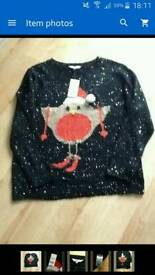 Ladies Christmas jumper size XL