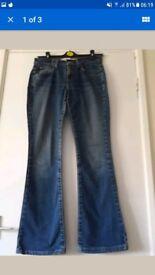 Levis bootcut jeans size 12