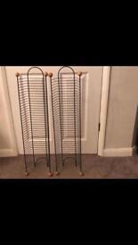 2 wire dvd racks