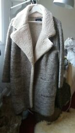 Beautiful Zara Coat, perfect for Spring as it is light and very comfortable
