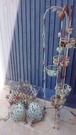 4 piece garden planter set