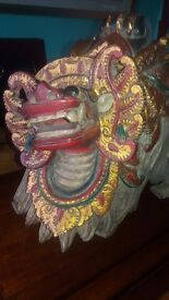 Beautiful barongsoi statue