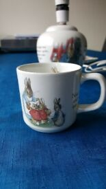 a rare peter rabbit cup