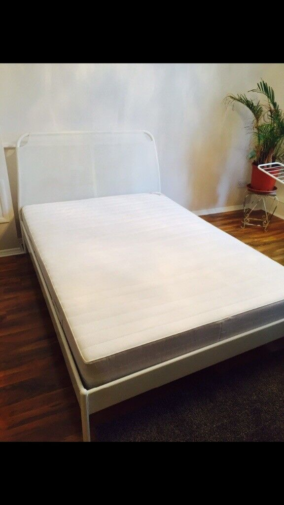 Ikea Duken Double Bedframe With Mattress In Queens Park