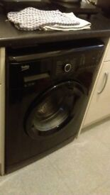 BEKO WASHING MACHINE IN BLACK 6KG DRUM 1400 RPM SPIN A++