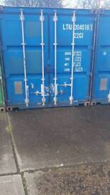 20ft storage container 16.50 pw 24/7 access cctv monitoring