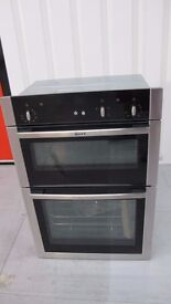 NEFF U14S32N5GB Electric Double Oven - Stainless Steel