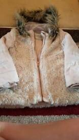 Girls winter coat 6-7