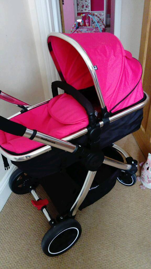 Pink mothercare pushchair travel system with car seat | in ...