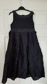Black Tigerlily Dress 7-8 years