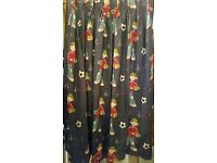 1 pair of handmade curtains – suitable for boys room