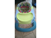 Baby booster seat for feeding.