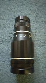 Takumar 1:35.5/200 Large Vintage Camera Lense