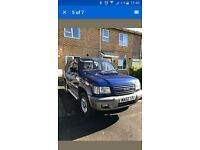 Isuzu trooper 3.0td 7seats 4x4 spares or repairs