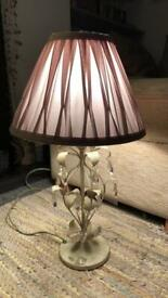 Gorgeous shabby chic vintage style lamp