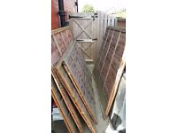 Garden fencing panels 4ft x 6ft and 5ft x 6ft - Free Of Charge if collected