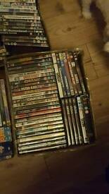 Approx 250 dvds