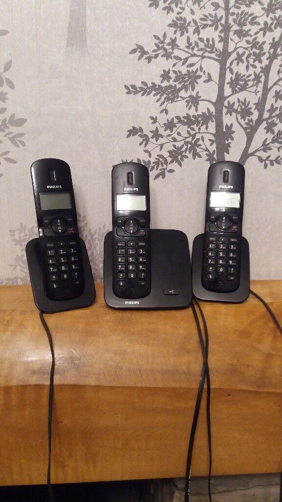 Three matching phones