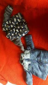 Baby boys coats and tops