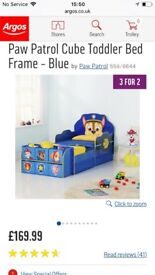 Chase toddler bed