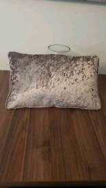 mink velour cushion