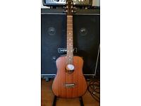 Epiphone 3/4 Travel Guitar / mahogany / electro acoustic / swap trade