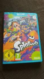 Splatoon ( Nintendo Wii u game)