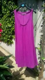 Pink M&S dress size 10