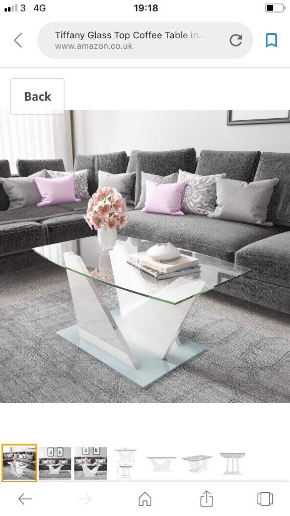 Superb Lovely Glass Coffee Table In Dukinfield Manchester Gumtree Home Interior And Landscaping Ferensignezvosmurscom
