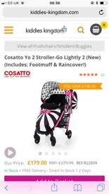 Cosatto go lightly 2 stroller