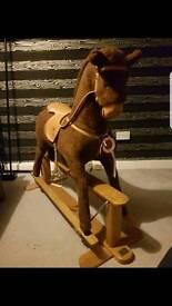 Large mama and papas rocking horse