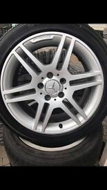 17' Genuine AMG C Class Mercedes alloys