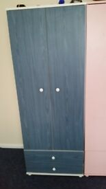 Blue wardrobe for sale