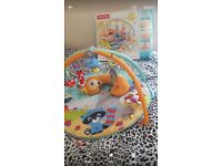 Fisher price gym & tummy cushion