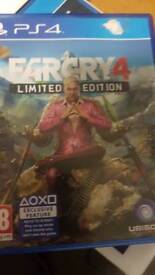 Farcry 4 ps4 limited edition