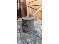 Wood burner cast iron £85