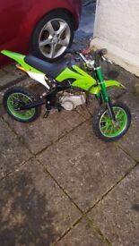 50 cc childs bike