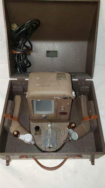 Bell & Howell B&H Filmo 148-A 8mm Movie Film Editor Complete with Case and Arms