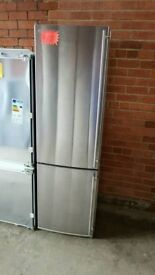 Tall Stainless Steel A+++ Class Frost Free Miele Fridge Freezer