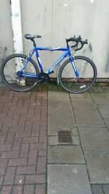 "Blue Uittesse Spirit Road Bike, 21 Speed, 24"" Large Frame, 700c Wheels"