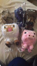 Minecraft Plush (Soft Toys)