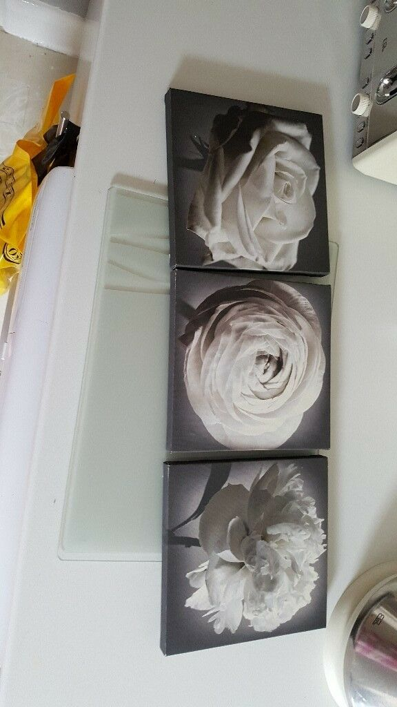 Canvas picture set of 3