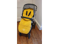 Bugaboo Cameleon 3 with a footmuff